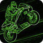 3D Neon Race spel