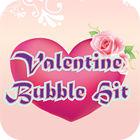 Valentine Bubble Hit spel