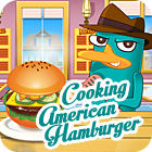 Cooking American Hamburger spel