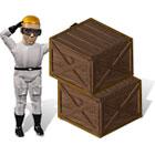 Cube Pusher spel