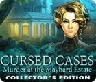 Cursed Cases: Murder at the Maybard Estate Collector's Edition spel