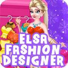 Elsa Fashion Designer spel