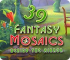 Fantasy Mosaics 39: Behind the Mirror game