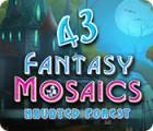 Fantasy Mosaics 43: Haunted Forest spel