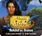 Memoirs of Murder: Behind the Scenes Collector's Edition spel