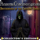 Paranormal Crime Investigations: Brotherhood of the Crescent Snake Collector's Edition spel