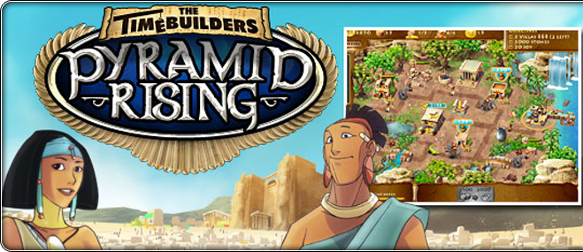 The Timebuilders: Pyramid Rising exclusief spel