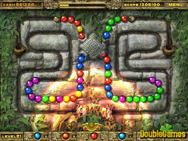 Gratis downloaden Inca Ball screenshot 3