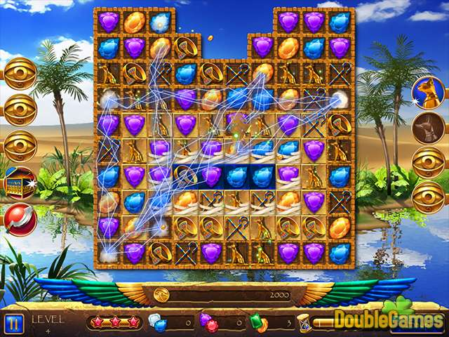 Gratis downloaden Legend of Egypt: Jewels of the Gods 2 - Even More Jewels screenshot 1