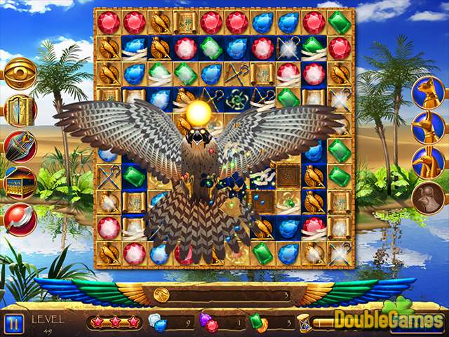 Gratis downloaden Legend of Egypt: Jewels of the Gods 2 - Even More Jewels screenshot 3