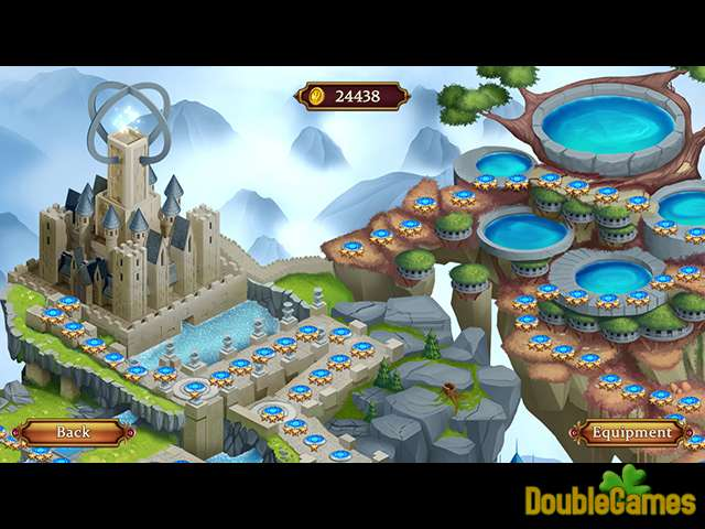 Gratis downloaden Solitaire: Elemental Wizards screenshot 3