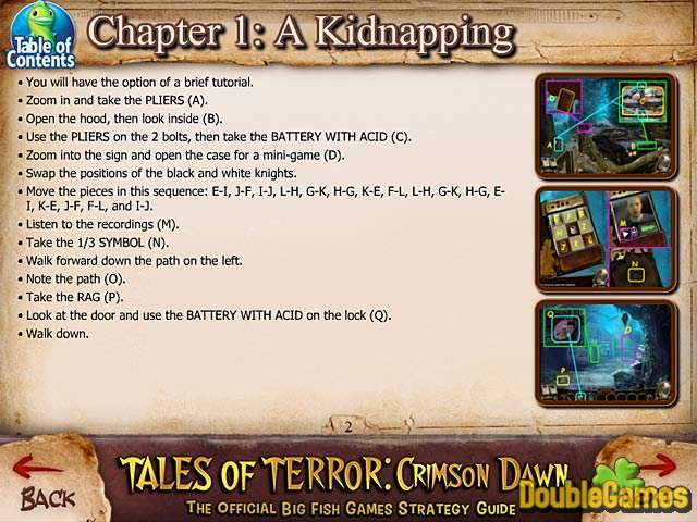 Free Download Tales of Terror: Crimson Dawn Strategy Guide Screenshot 1