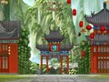 Gratis downloaden Kung Fu Panda 2 Tigress Jump screenshot 2